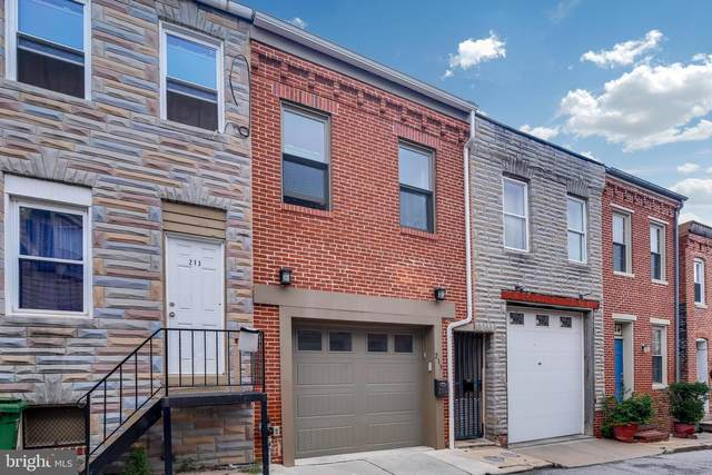 215 S Madeira Street, BALTIMORE, MD 21231 (#MDBA523920) :: SURE Sales Group