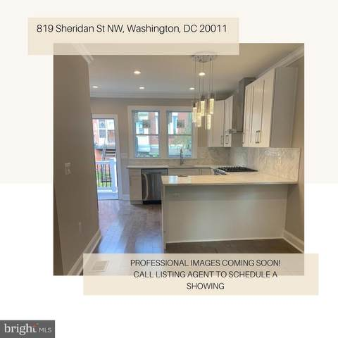 819 Sheridan Street NW, WASHINGTON, DC 20011 (#DCDC486586) :: The Redux Group