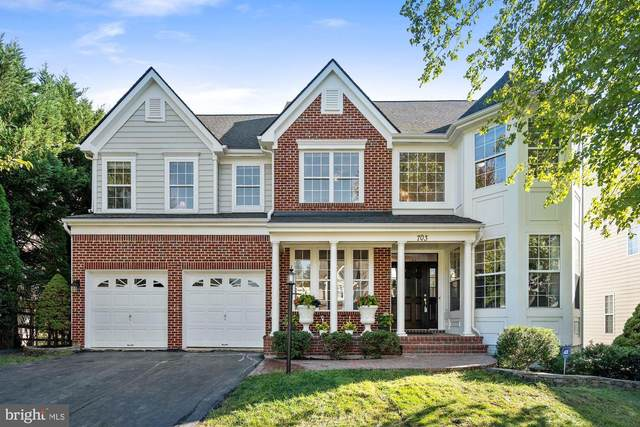 703 Vermillion Drive NE, LEESBURG, VA 20176 (#VALO421184) :: Network Realty Group