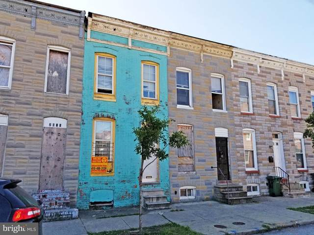2017 Ashton Street, BALTIMORE, MD 21223 (#MDBA524198) :: Ultimate Selling Team