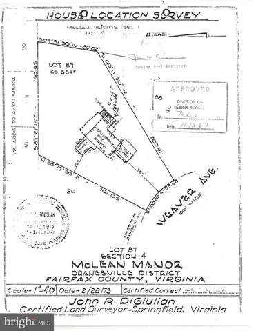 6700 Weaver Avenue, MCLEAN, VA 22101 (#VAFX1156164) :: Bob Lucido Team of Keller Williams Integrity