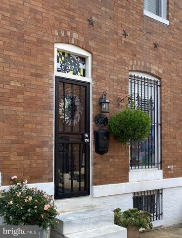 207 N Streeper Street, BALTIMORE, MD 21224 (#MDBA525114) :: The Dailey Group