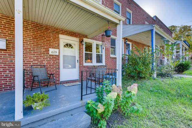 619 W 36TH Street, BALTIMORE, MD 21211 (#MDBA525584) :: The Dailey Group