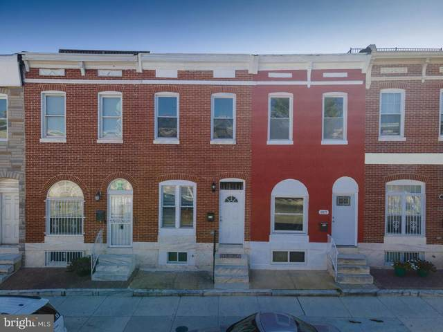 819 N Patterson Park Avenue, BALTIMORE, MD 21205 (#MDBA525850) :: SURE Sales Group
