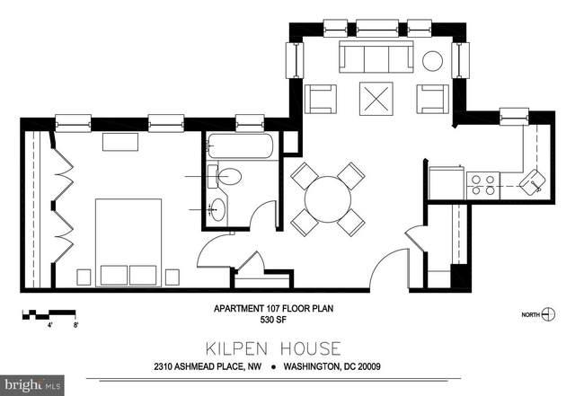 2310 Ashmead Place NW #107, WASHINGTON, DC 20009 (#DCDC490368) :: Bic DeCaro & Associates