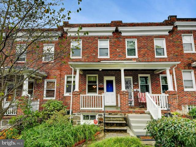 4206 Evans Chapel Road, BALTIMORE, MD 21211 (#MDBA526994) :: The MD Home Team