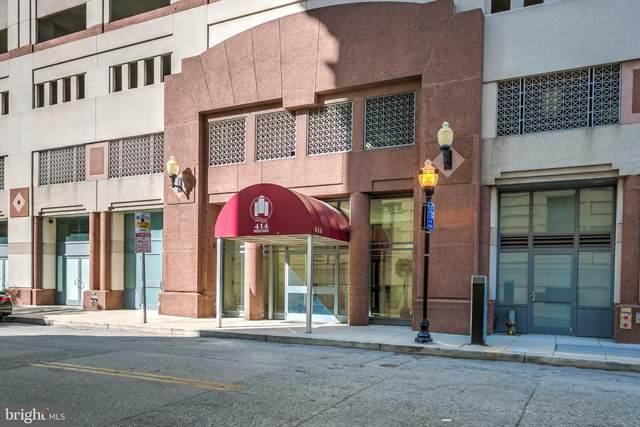 414 Water Street #1101, BALTIMORE, MD 21202 (#MDBA527342) :: Bic DeCaro & Associates