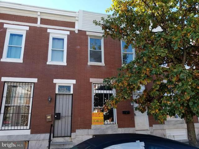 3027 E Monument Street, BALTIMORE, MD 21205 (#MDBA528226) :: The Sky Group