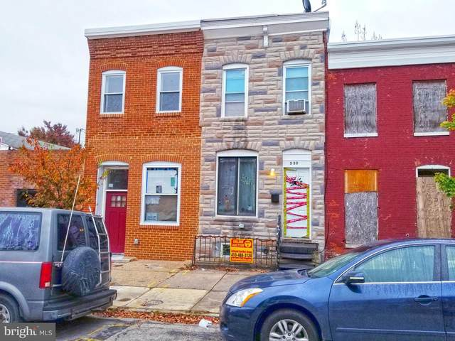 533 N Patterson Park Avenue, BALTIMORE, MD 21205 (#MDBA528638) :: The Miller Team