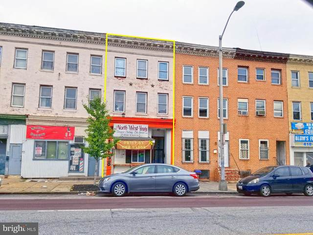 1338 W North Avenue, BALTIMORE, MD 21217 (#MDBA528888) :: Gail Nyman Group