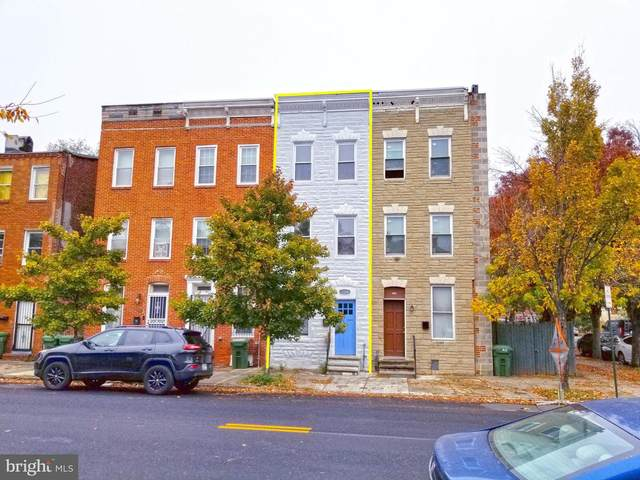 1104 W Lombard Street, BALTIMORE, MD 21223 (#MDBA529042) :: Gail Nyman Group