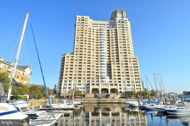 100 Harborview Drive Ph4c, BALTIMORE, MD 21230 (#MDBA530860) :: Network Realty Group