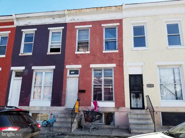 105 N Payson Street, BALTIMORE, MD 21223 (#MDBA531234) :: The Miller Team