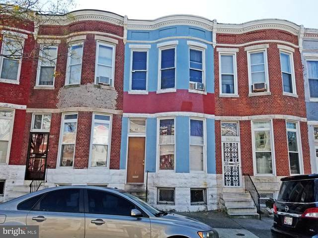 1951 W Fayette Street, BALTIMORE, MD 21223 (#MDBA531264) :: The Miller Team