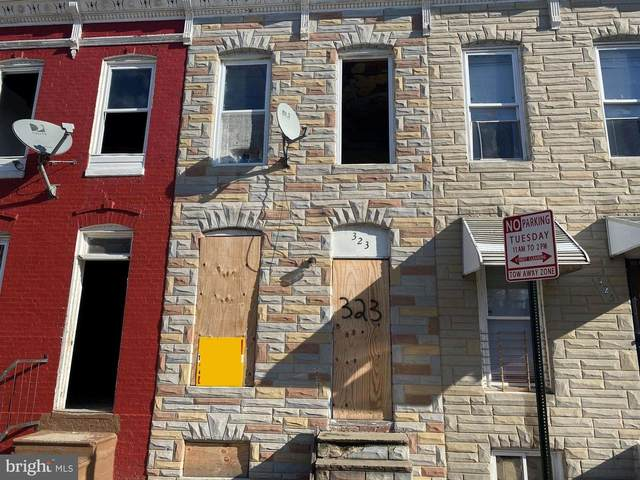 323 Furrow Street, BALTIMORE, MD 21223 (#MDBA532018) :: The Redux Group