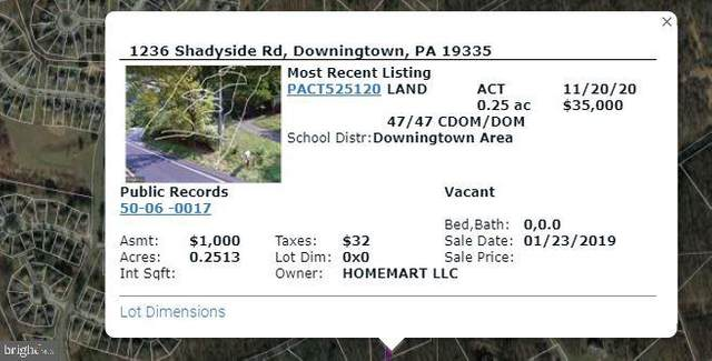 1236 Shadyside Road, DOWNINGTOWN, PA 19335 (#PACT525120) :: The Mike Coleman Team