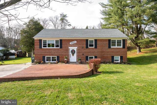 5920 Snowdens Run Road, SYKESVILLE, MD 21784 (#MDCR201338) :: The Riffle Group of Keller Williams Select Realtors
