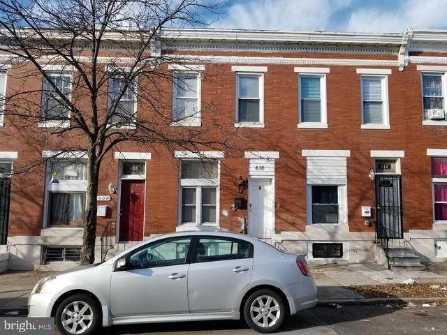 610 N Kenwood Avenue, BALTIMORE, MD 21205 (#MDBA536226) :: The Redux Group