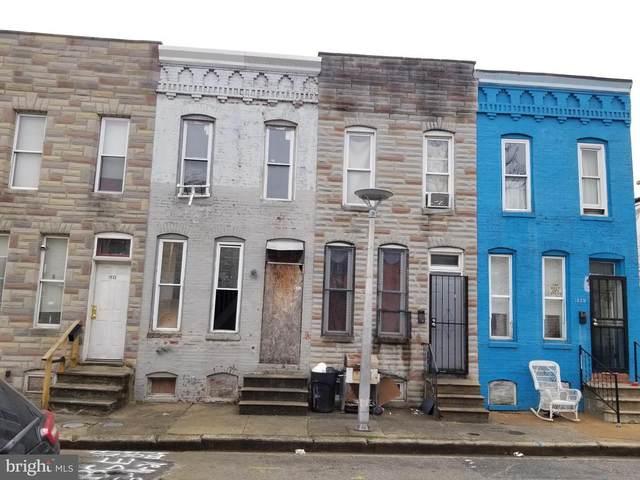 1937 Christian Street, BALTIMORE, MD 21223 (#MDBA540184) :: ExecuHome Realty