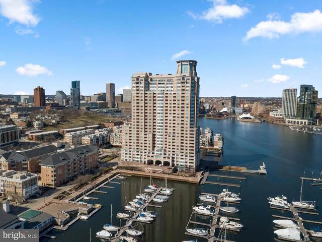 100 Harborview Drive #2307, BALTIMORE, MD 21230 (#MDBA541834) :: Revol Real Estate