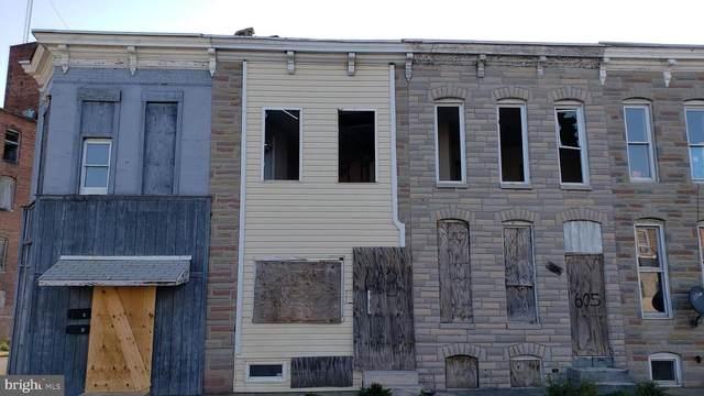 603 S Payson Street, BALTIMORE, MD 21223 (#MDBA544726) :: Dart Homes