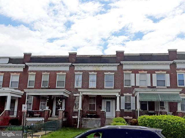 3713 Edmondson Avenue, BALTIMORE, MD 21229 (#MDBA545812) :: Network Realty Group