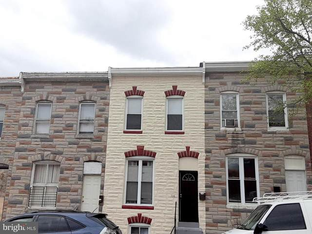 216 S Smallwood Street, BALTIMORE, MD 21223 (#MDBA545842) :: Bruce & Tanya and Associates