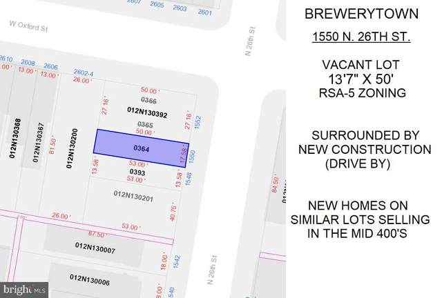 1550 N 26TH Street, PHILADELPHIA, PA 19121 (#PAPH1004126) :: Linda Dale Real Estate Experts