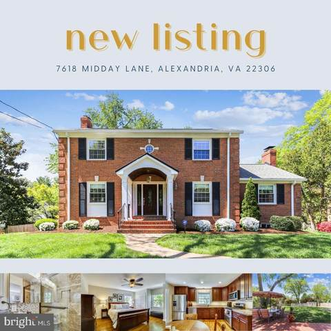 7618 Midday Lane, ALEXANDRIA, VA 22306 (#VAFX1192296) :: Colgan Real Estate