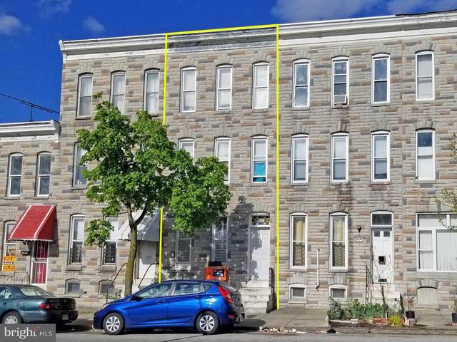 206 S Payson Street, BALTIMORE, MD 21223 (#MDBA547236) :: Bruce & Tanya and Associates