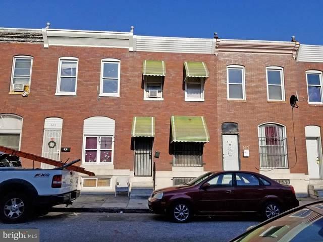 623 N Belnord Avenue, BALTIMORE, MD 21205 (#MDBA547276) :: Dart Homes