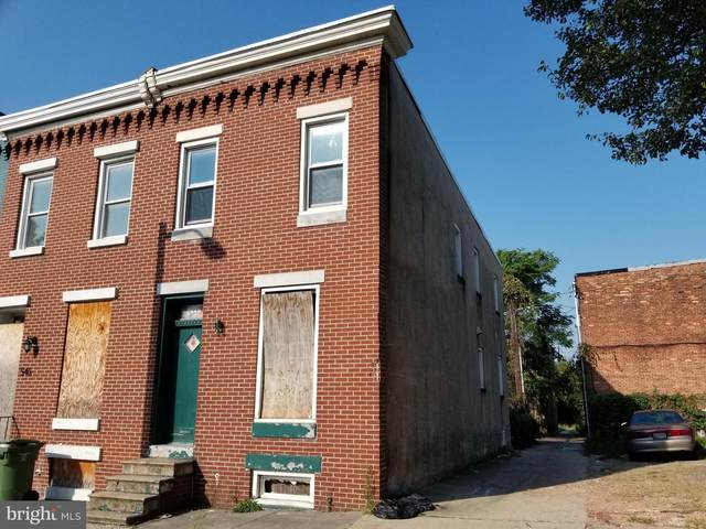 548 N Payson Street, BALTIMORE, MD 21223 (#MDBA548256) :: The Gus Anthony Team