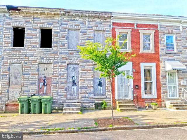 1821 Ramsay Street, BALTIMORE, MD 21223 (#MDBA549294) :: Bruce & Tanya and Associates