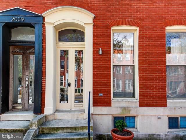 2037 E Baltimore Street, BALTIMORE, MD 21231 (#MDBA549338) :: Sunrise Home Sales Team of Mackintosh Inc Realtors