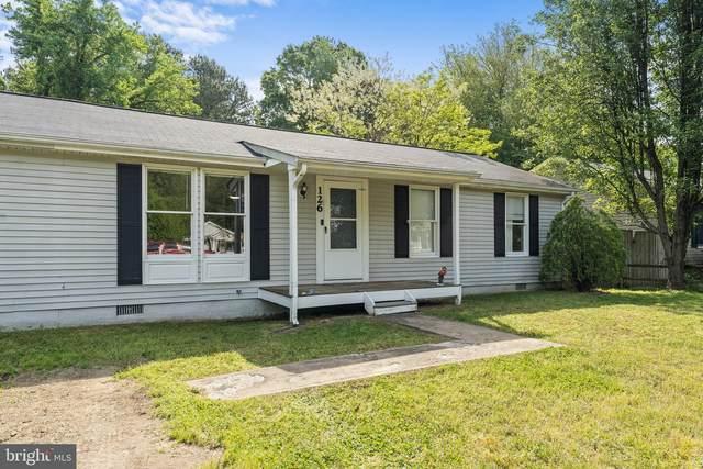 126 Meadow View, COLONIAL BEACH, VA 22443 (#VAWE118344) :: Jim Bass Group of Real Estate Teams, LLC