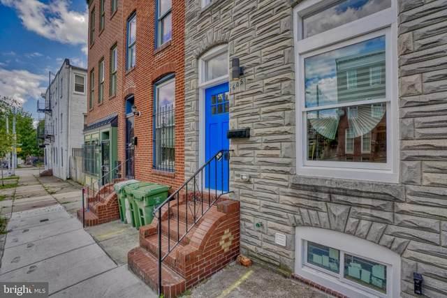 1605 W Pratt Street, BALTIMORE, MD 21223 (#MDBA549382) :: Dart Homes