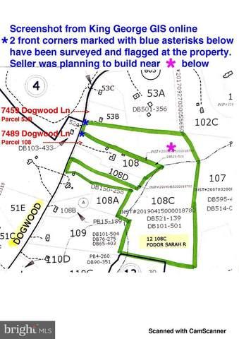 Dogwood Lane, KING GEORGE, VA 22485 (#VAKG121374) :: RE/MAX Cornerstone Realty