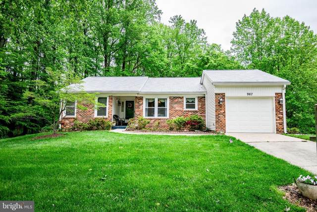 967 Sawgrass Way, ANNAPOLIS, MD 21401 (#MDAA467608) :: John Lesniewski | RE/MAX United Real Estate