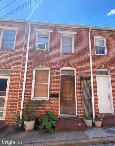 426 S Chapel Street, BALTIMORE, MD 21231 (#MDBA550230) :: Dart Homes