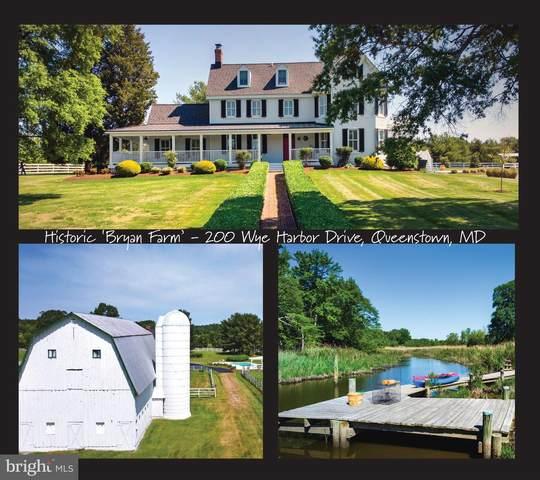 200 Wye Harbor Drive, QUEENSTOWN, MD 21658 (#MDQA147702) :: Eng Garcia Properties, LLC