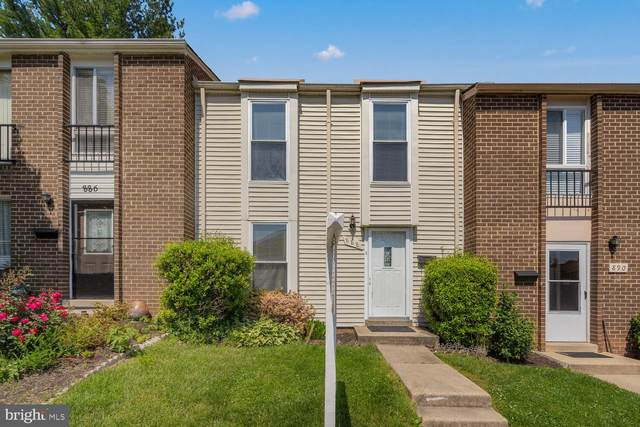 888 W Side Drive 15-G, GAITHERSBURG, MD 20878 (#MDMC758620) :: The Licata Group / EXP Realty