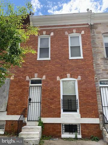 2613 W Fayette Street, BALTIMORE, MD 21223 (#MDBA551630) :: The Mike Coleman Team