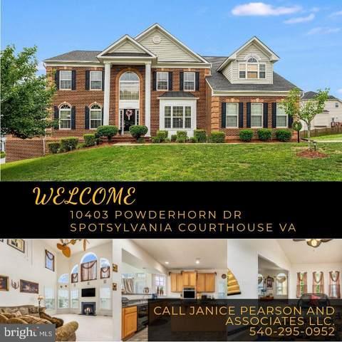 10403 Powderhorn Drive, SPOTSYLVANIA, VA 22553 (#VASP232178) :: The Schiff Home Team