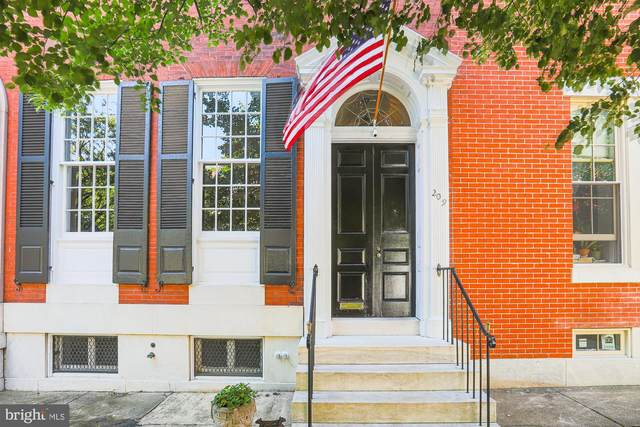 209 W Lanvale Street, BALTIMORE, MD 21217 (#MDBA553950) :: The Putnam Group