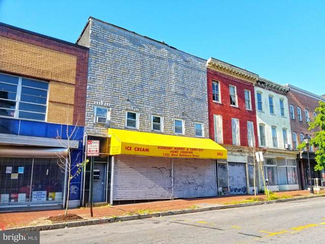 1323 W Baltimore Street, BALTIMORE, MD 21223 (#MDBA554040) :: ExecuHome Realty