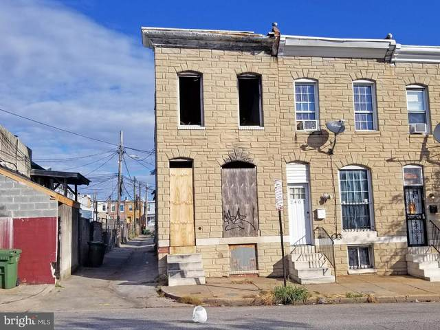 2400 Orleans Street, BALTIMORE, MD 21224 (#MDBA2000407) :: The Mike Coleman Team