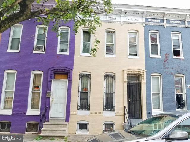 723 Baker Street, BALTIMORE, MD 21217 (#MDBA2000686) :: The Mike Coleman Team