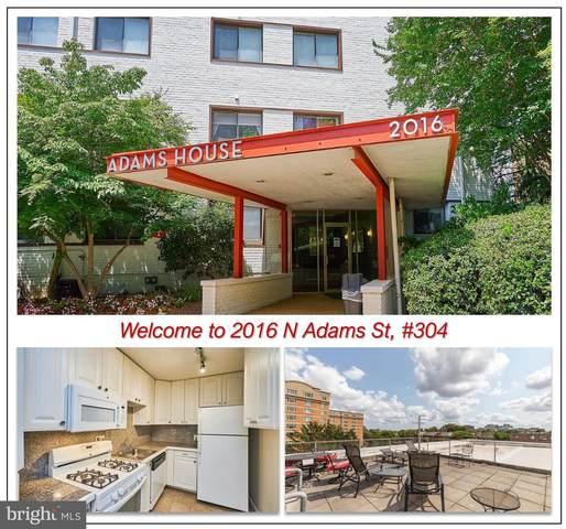 2016 N Adams Street #304, ARLINGTON, VA 22201 (#VAAR2000850) :: The Vashist Group