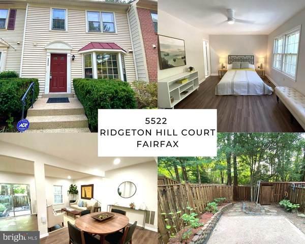 5522 Ridgeton Hill Court, FAIRFAX, VA 22032 (#VAFX2006344) :: Dart Homes