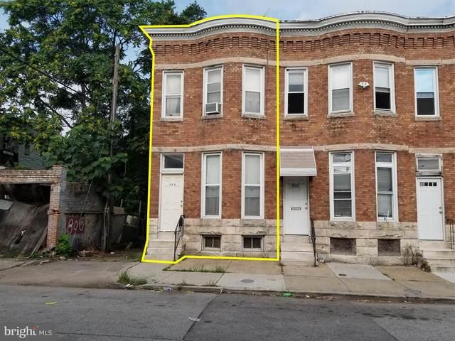 800 Appleton Street, BALTIMORE, MD 21217 (#MDBA2004334) :: Talbot Greenya Group